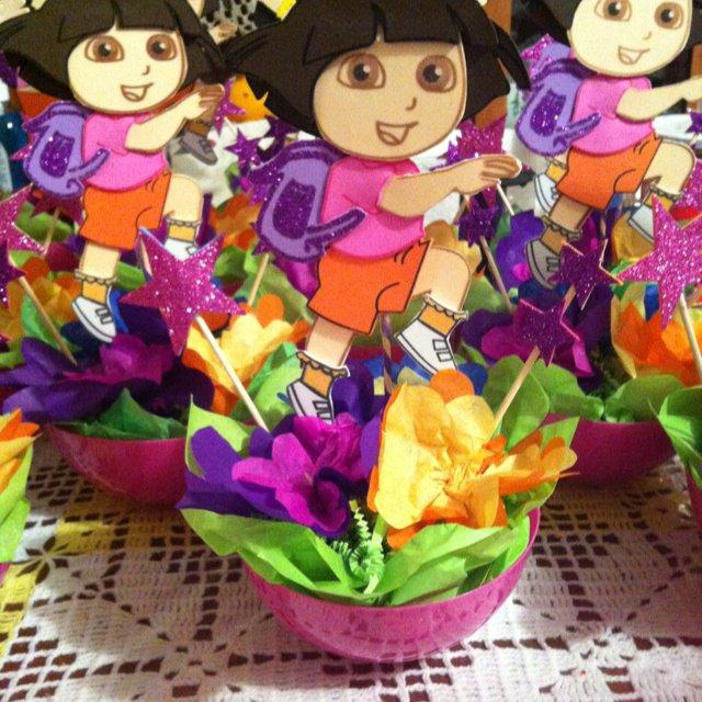 Dora The Explorer Centerpieces Ideas