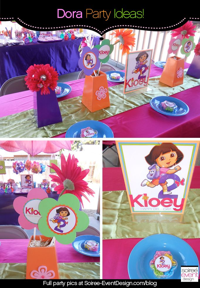 Dora The Explorer Party