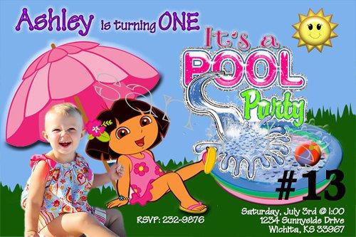 Dora The Explorer Pool Party Supplies
