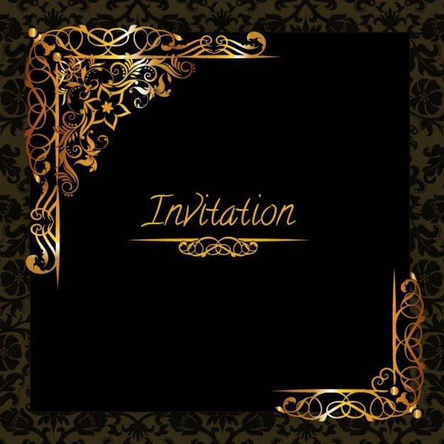 Elegant Party Invitation Templates Free