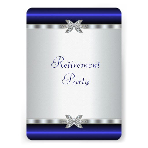 Elegant Retirement Party Invitation Templates
