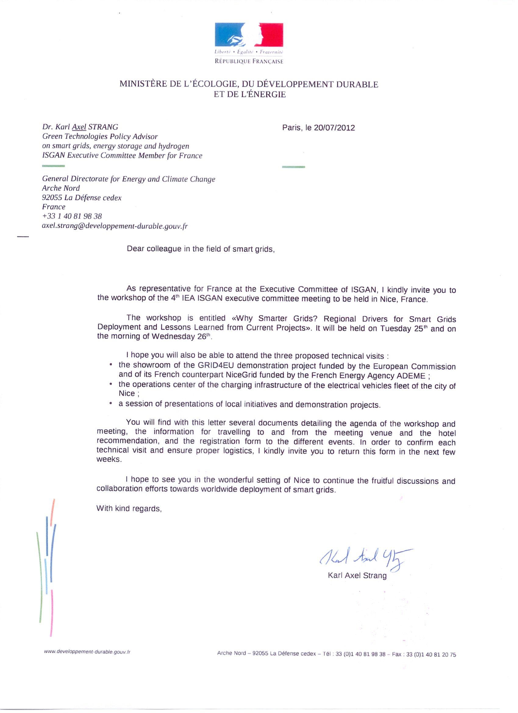 Example Of Business Invitation Letter For Visa