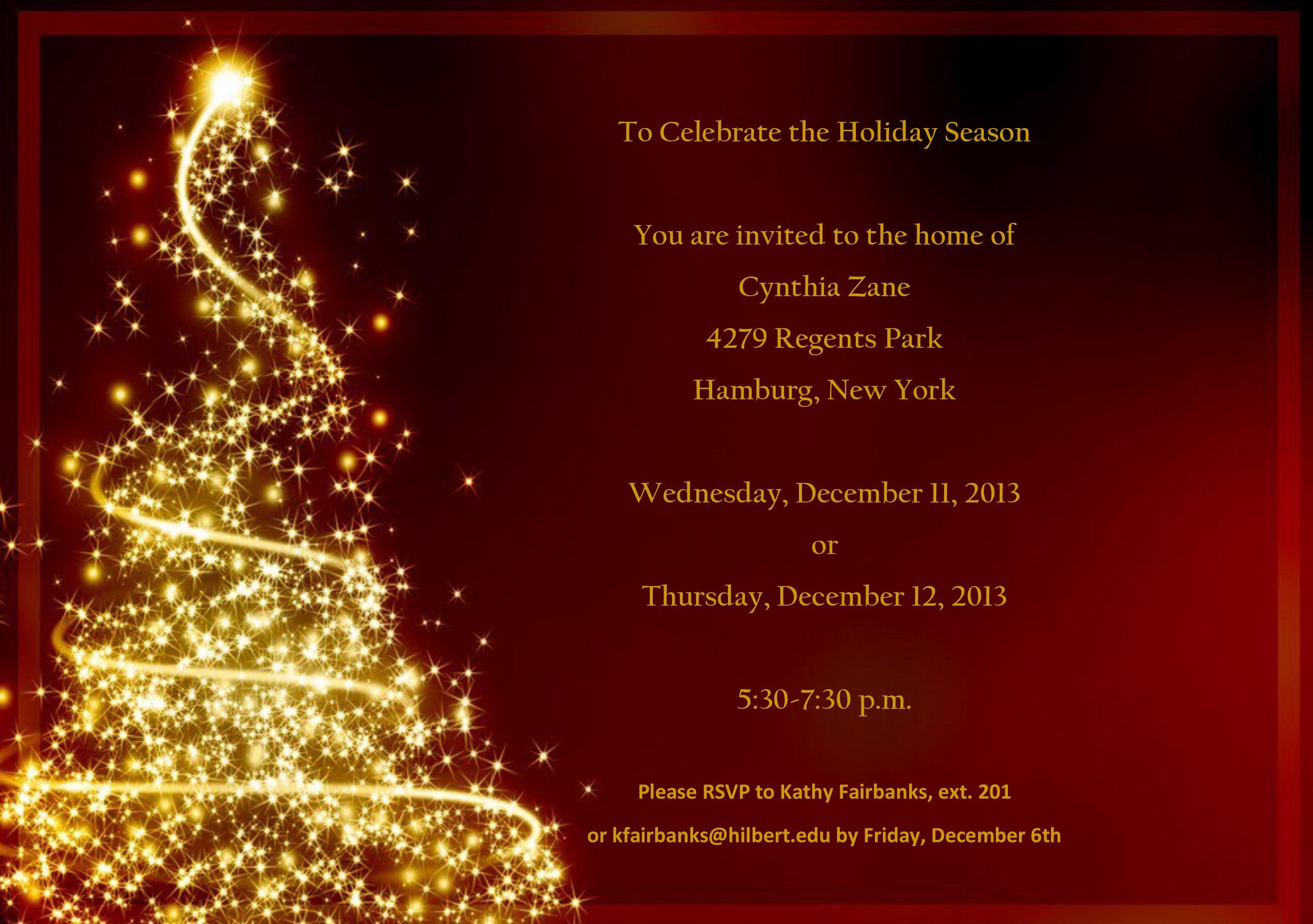 Formal Charity Dinner Invitations