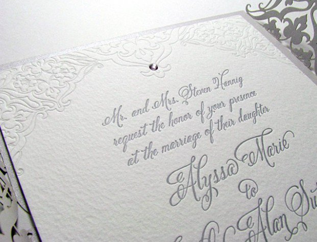 Formal Invitation Wording Wedding