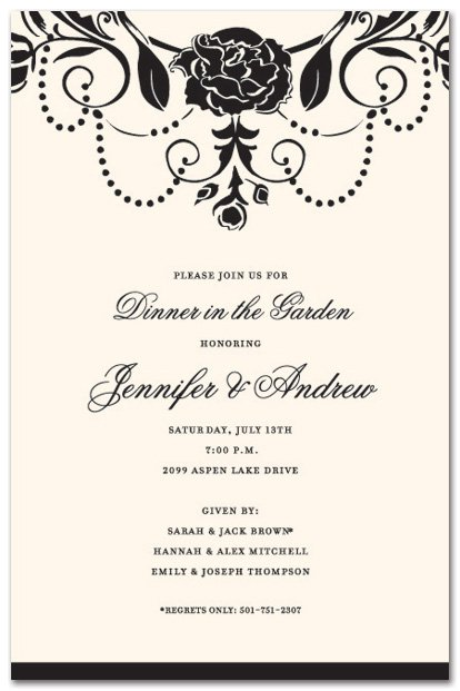 Formal party invitation template home images business dinner invitation business dinner invitation stopboris Choice Image