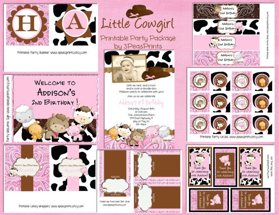Free Animal Print Party Printables
