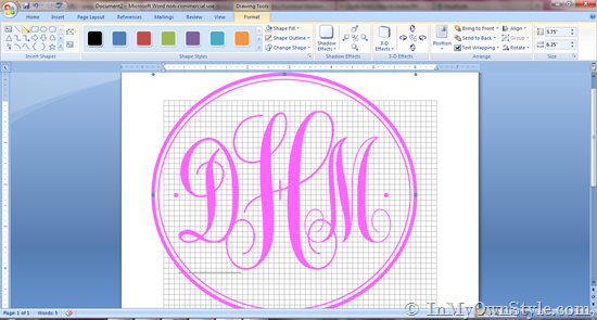 Free Create Your Own Monogram