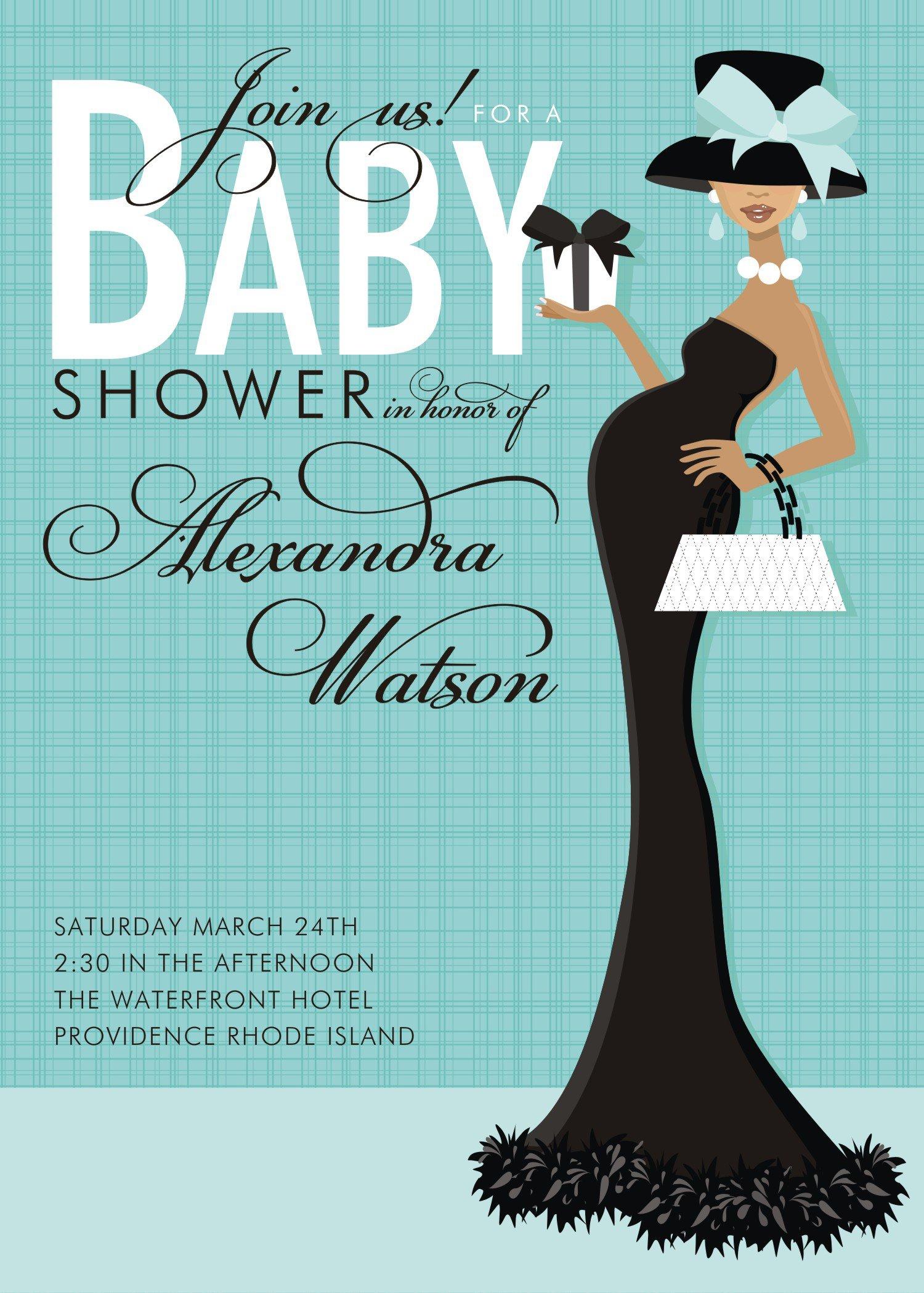 Free Customizable Baby Shower Invitations Templates