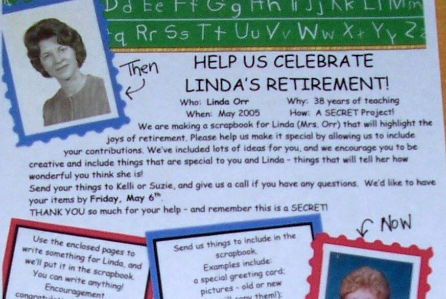 Free Downloadable Retirement Cards
