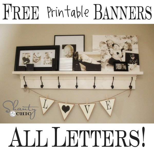 Free Happy Birthday Printable Banner Letters