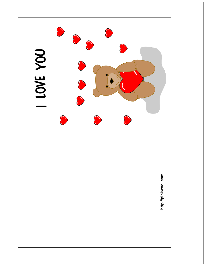Free Make And Print Cards