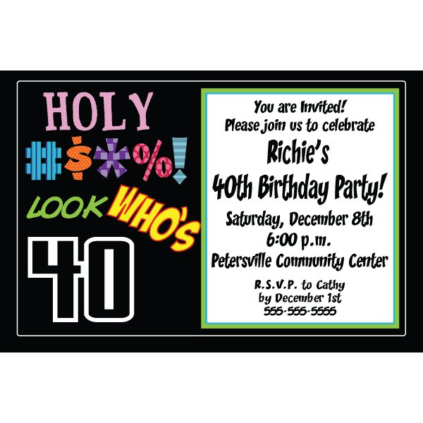 Free Printable 40th Birthday Decorations