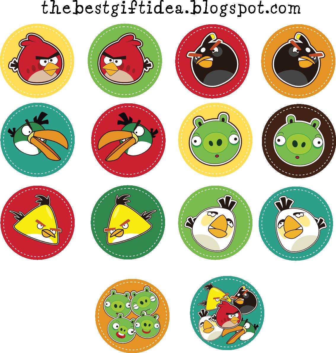 Free Printable Angry Birds Invitation