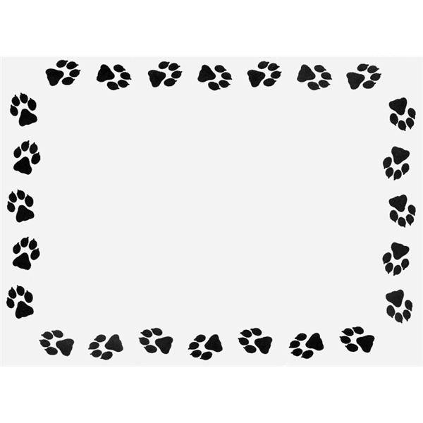 Free Printable Animal Print Borders
