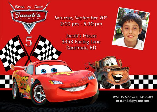 Free Printable Birthday Invitations Cars – Free Printable Race Car Birthday Invitations
