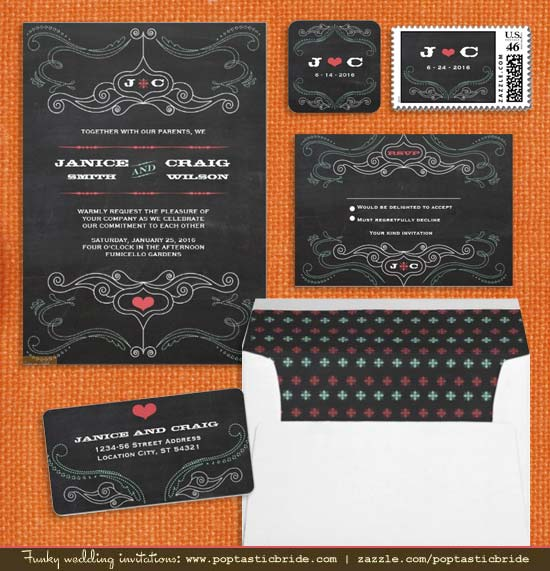 Free Printable Chalkboard Invitation Template