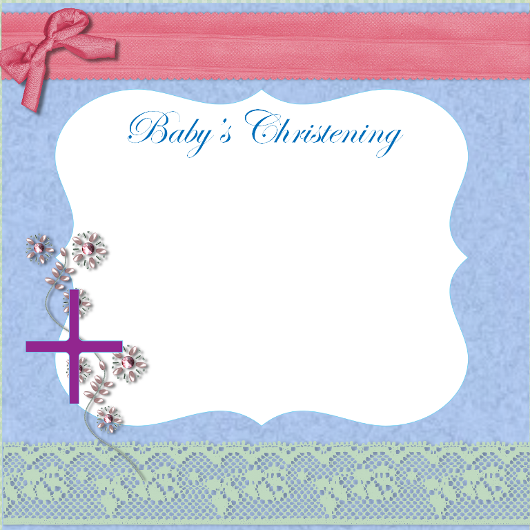 Free Printable Christening Invitations
