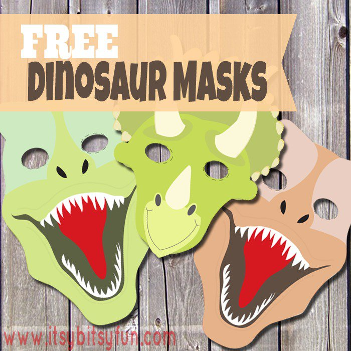 Free Printable Dinosaur Party Templates