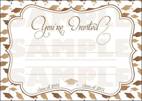 Free Printable Graduation Invitation Templates 2011