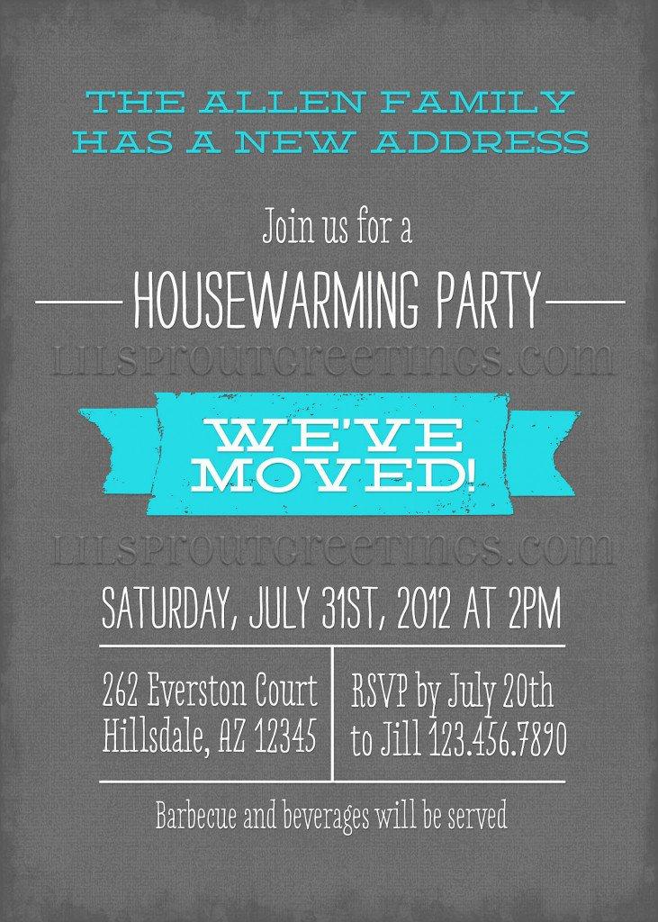 Free Printable Housewarming Invitation Cards