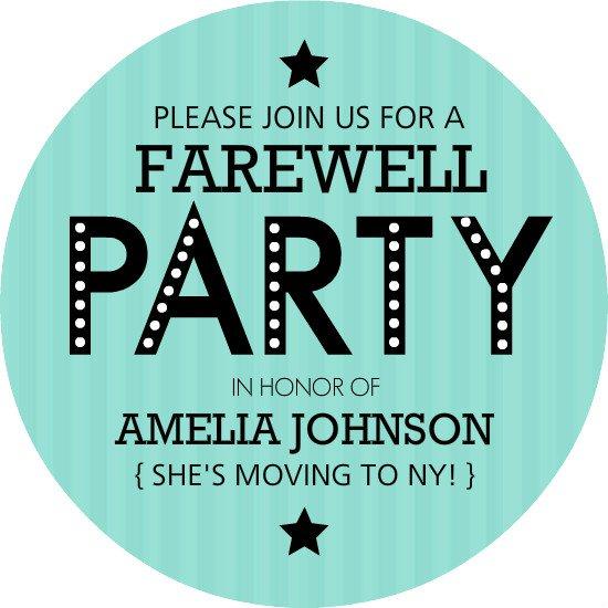 printable invitation templates going away party, Invitation templates