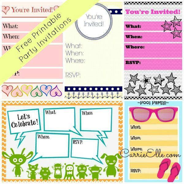 Gartner Invitation Kit for perfect invitation template