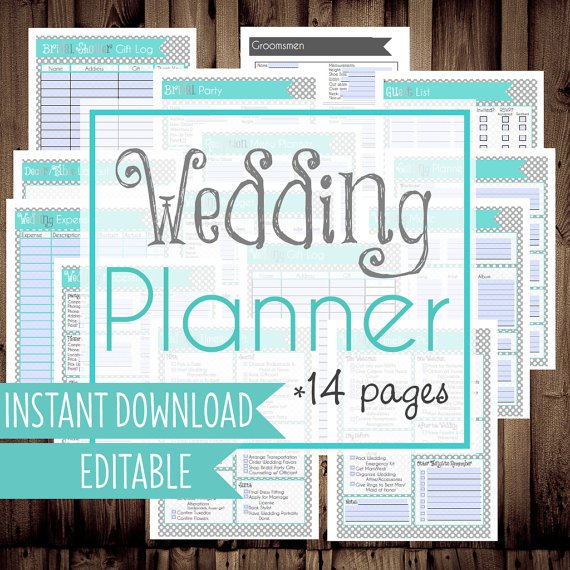 graphic relating to Free Printable Wedding Planner Worksheets named Cost-free Printable Marriage ceremony Planner Worksheets