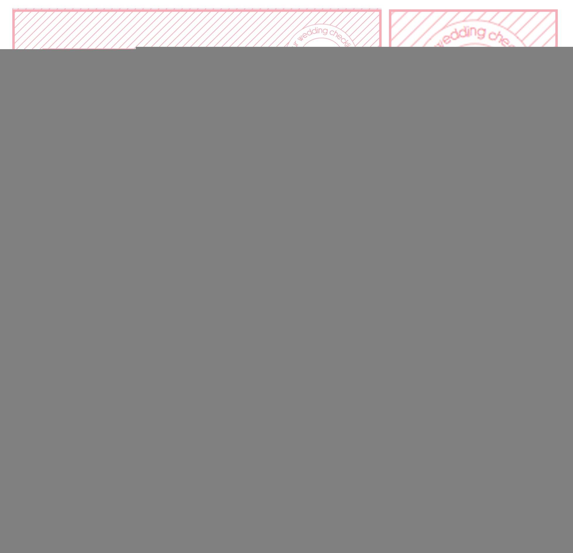 Free Printable Wedding Planning Worksheets