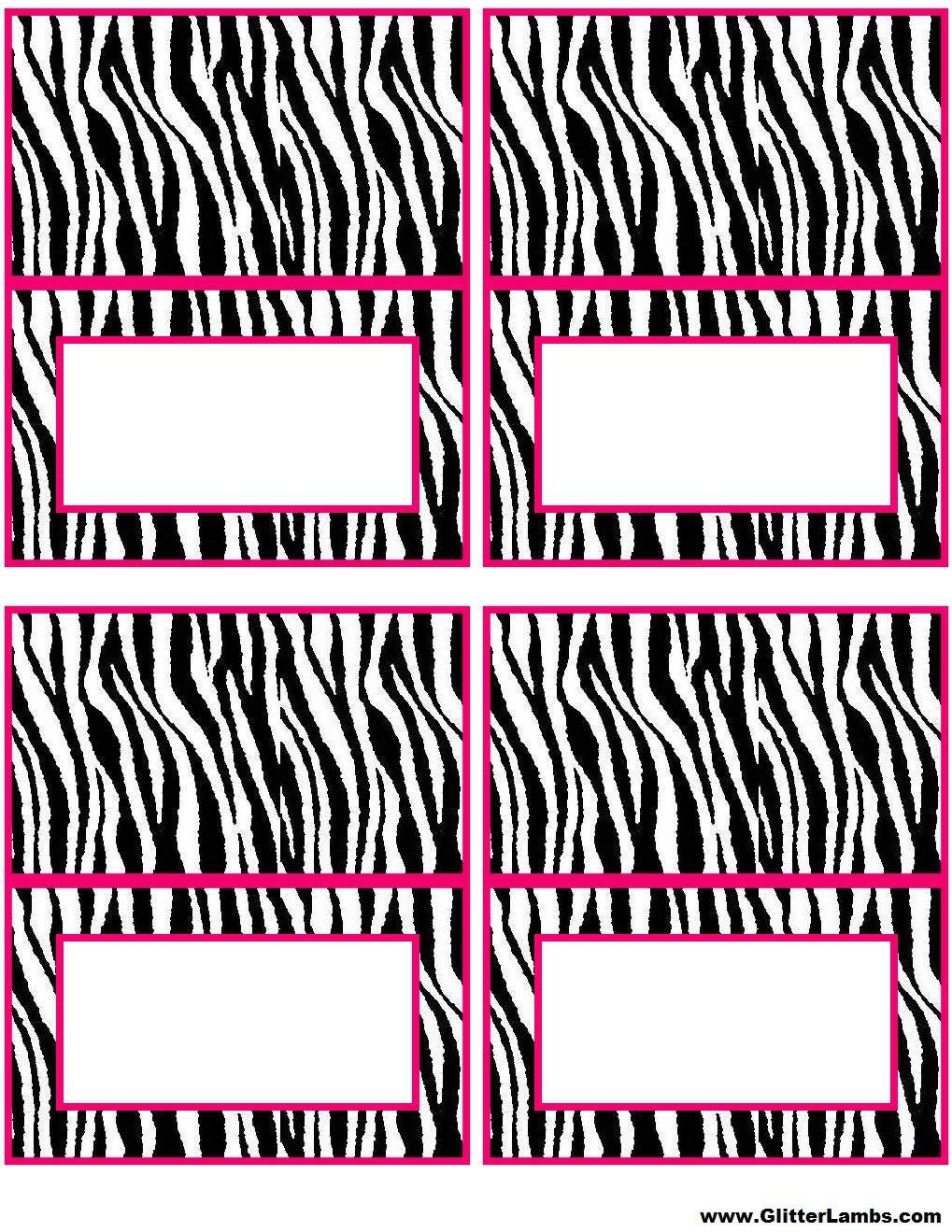 Zebra stripe birthday invitations filmwisefo