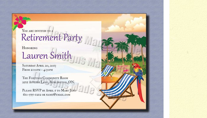 Retirement party flyer templates free for Retirement announcement flyer template