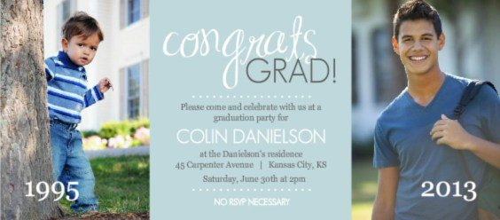 Fun High School Graduation Party Invitation Wording