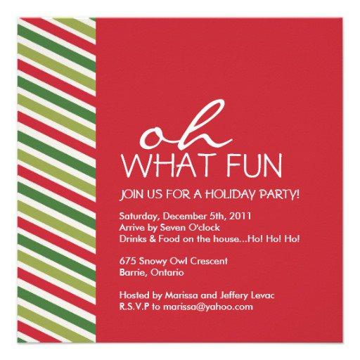 Fun Office Party Invitations