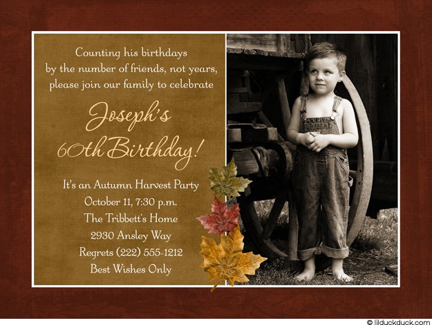 Funny 60th Birthday Invitations Wording