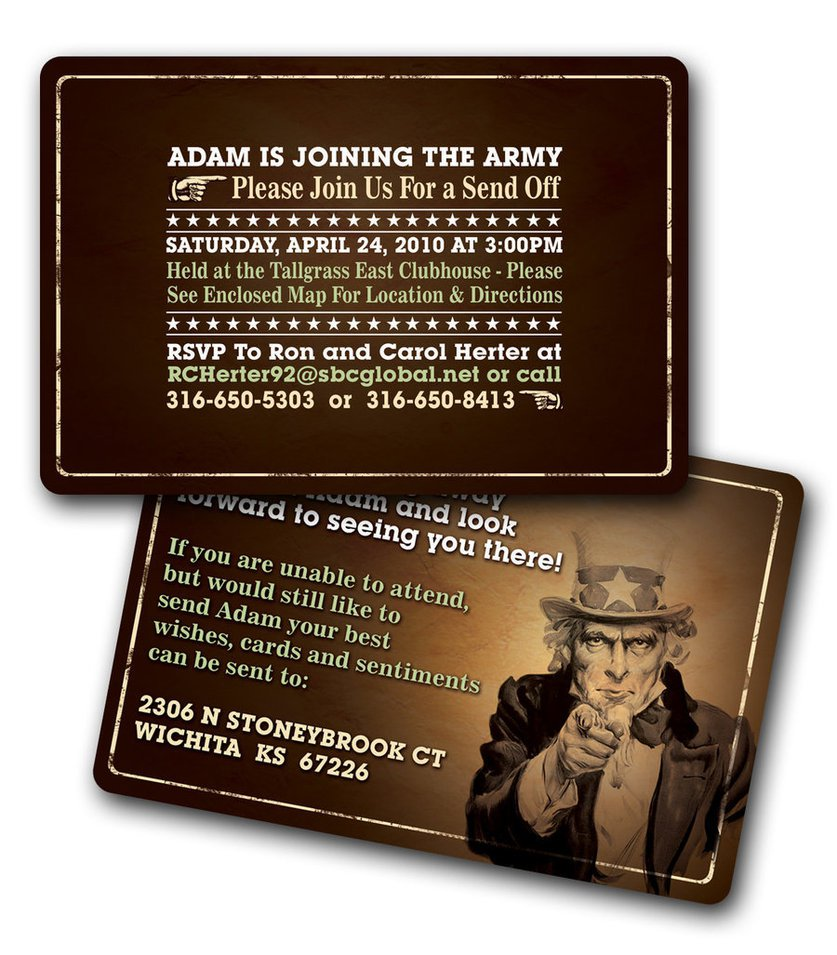 Going Away Party Templates Free