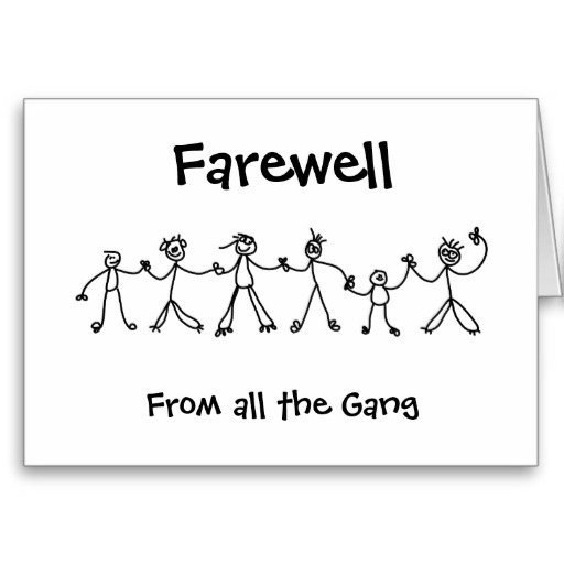 Going Away Party Template Powerpoint