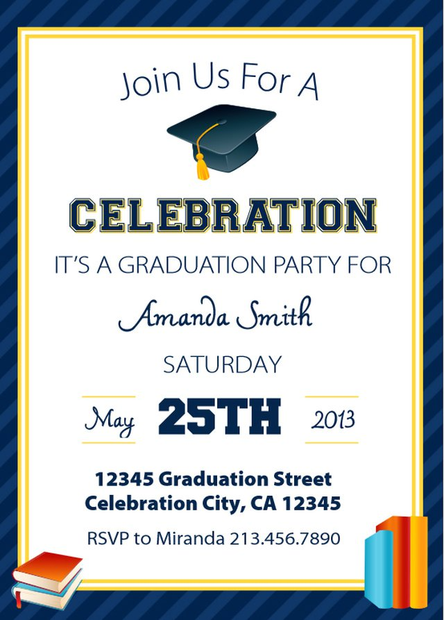 Graduation Invitation Cards Online Free