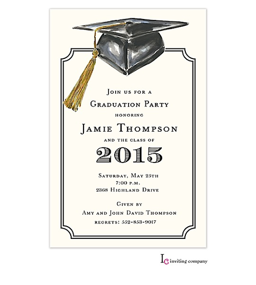 Graduation Party Invitations Templates 2016