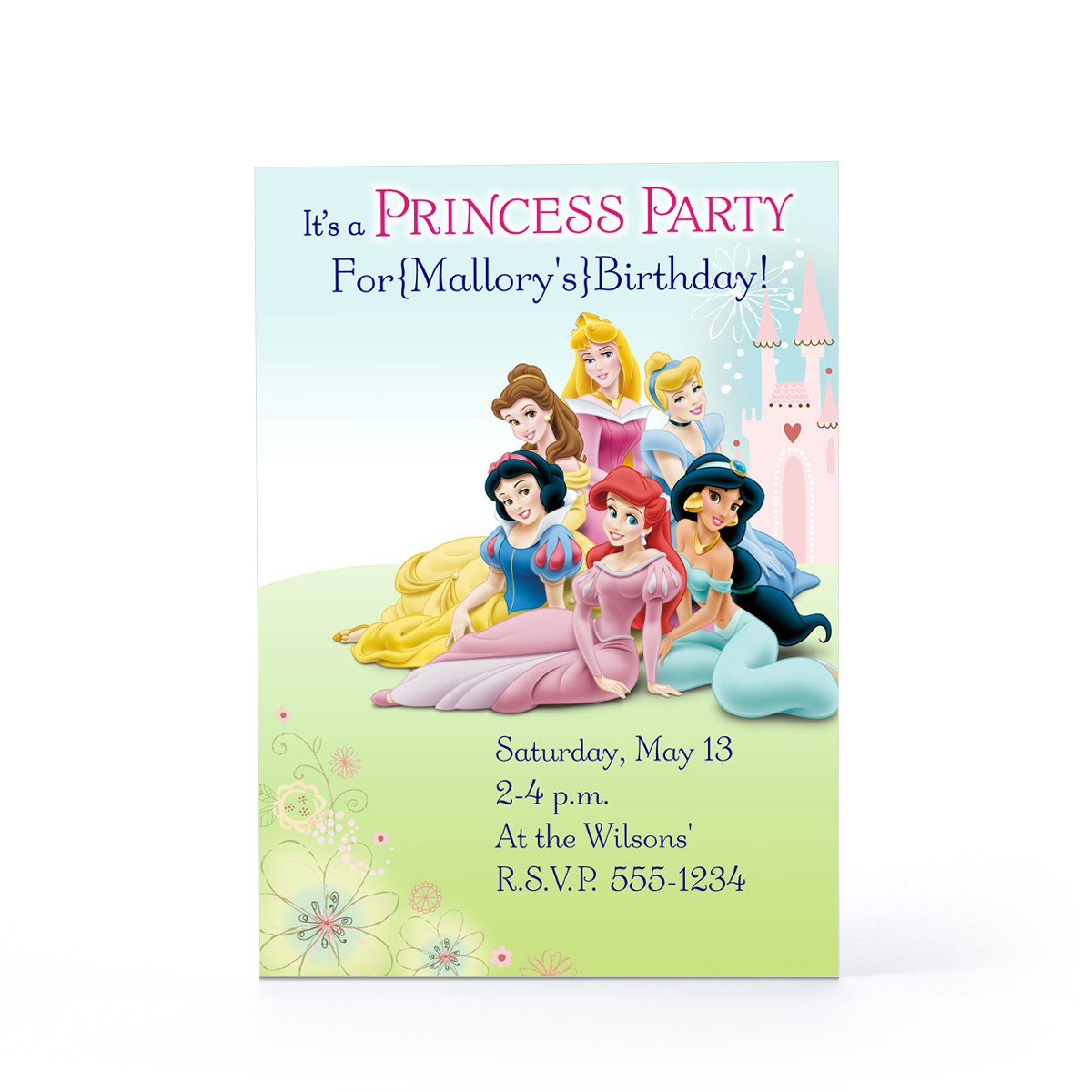Hallmark Cards Printable Birthday Invitation