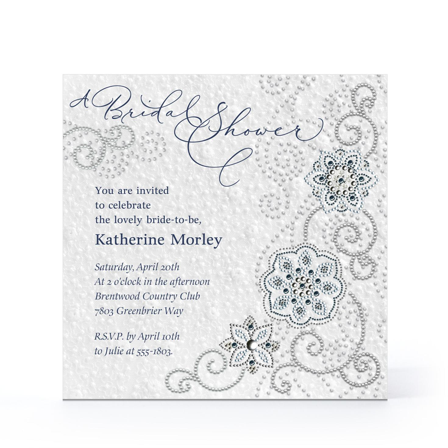Hallmark Invitations Bridal Shower