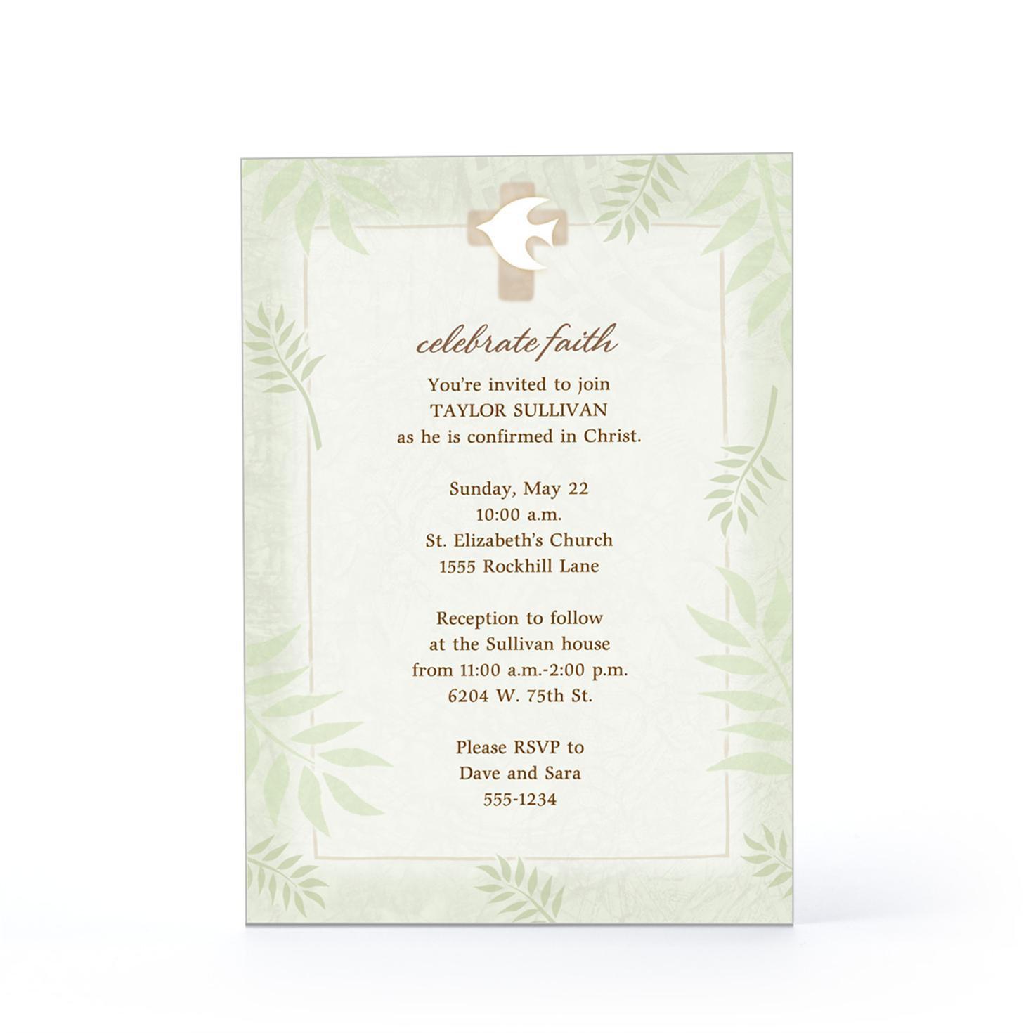 Hallmark Personalized Invitations