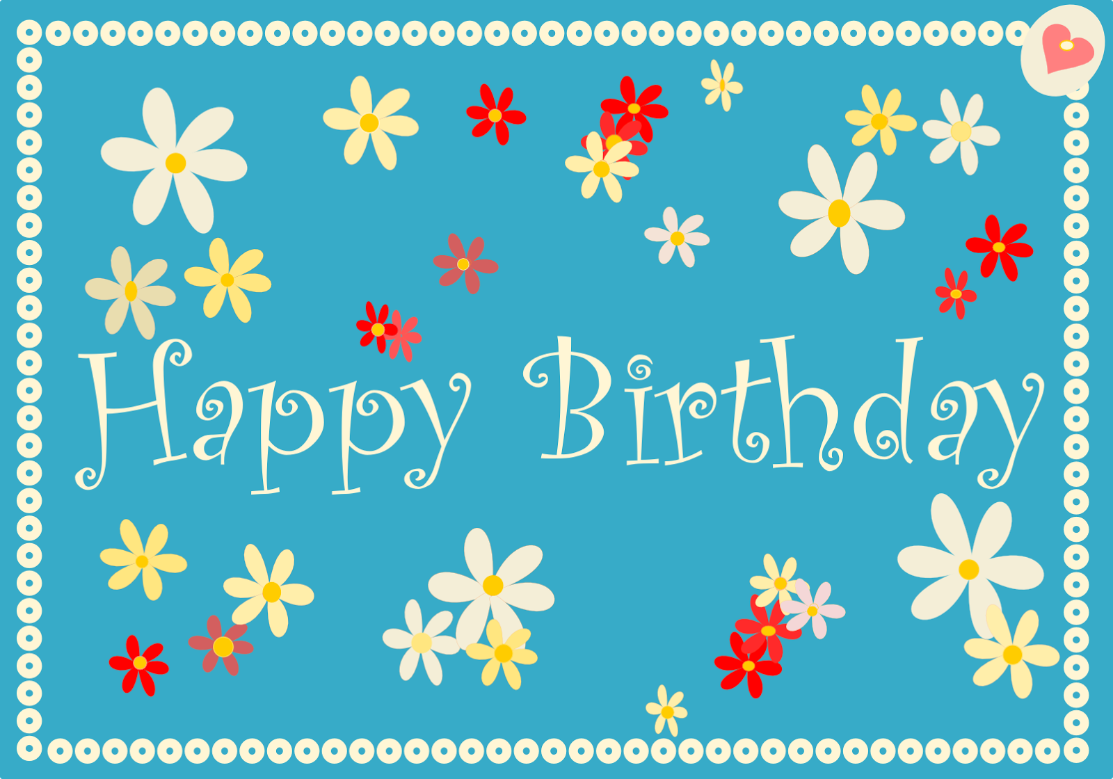 Birthday Cards Printable – Happy Birthday Card Print