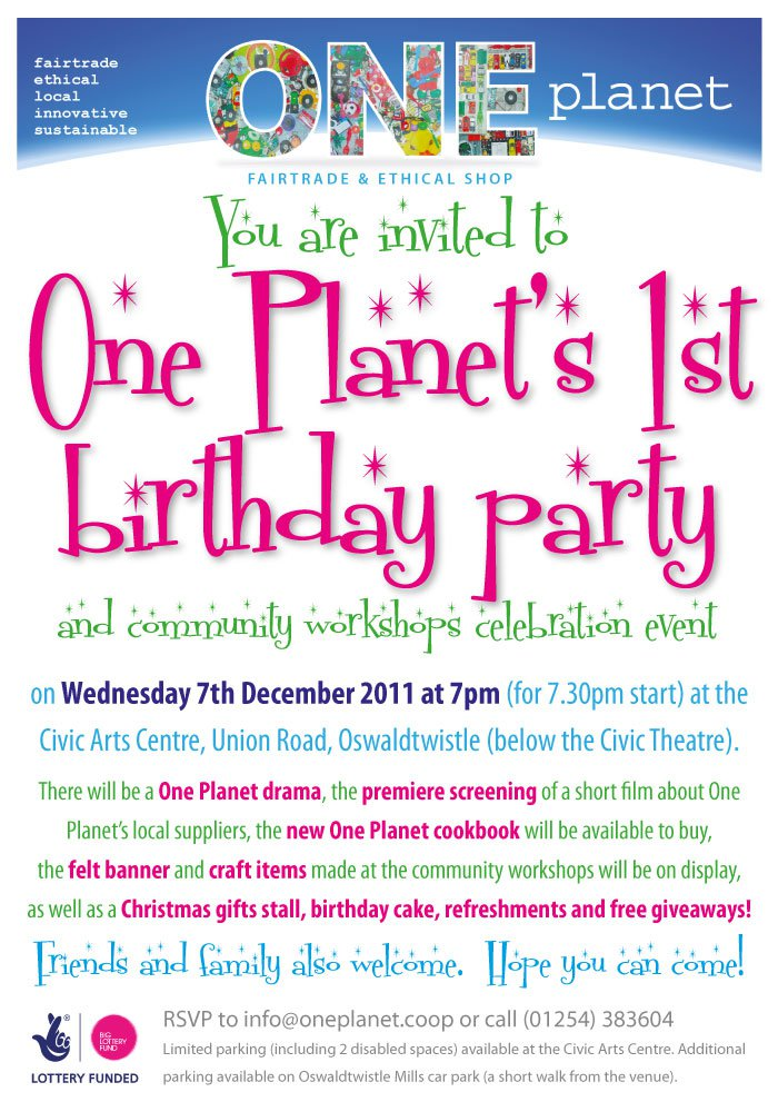 Happy First Birthday Invitation Wording