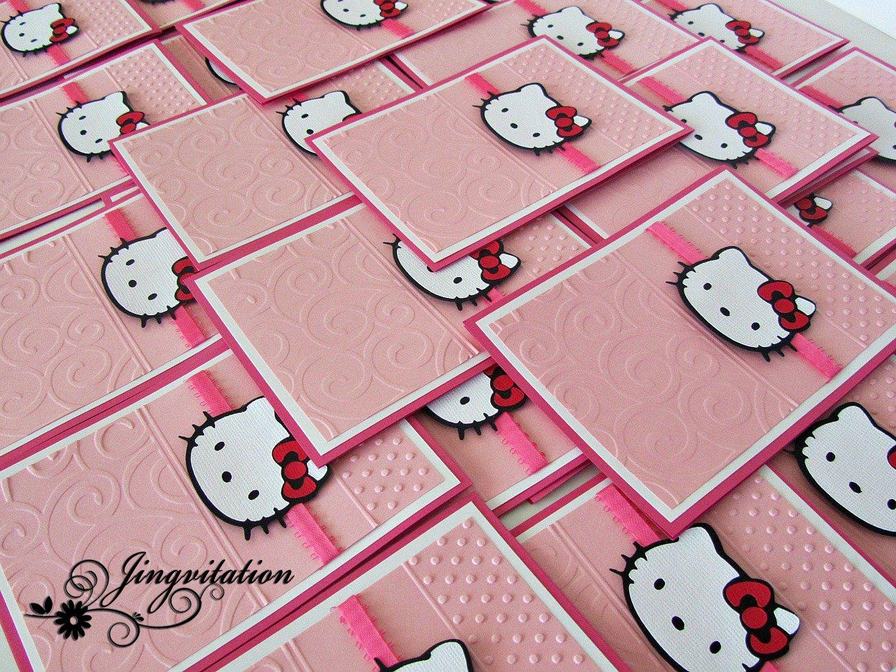 Hello Kitty Birthday Cards