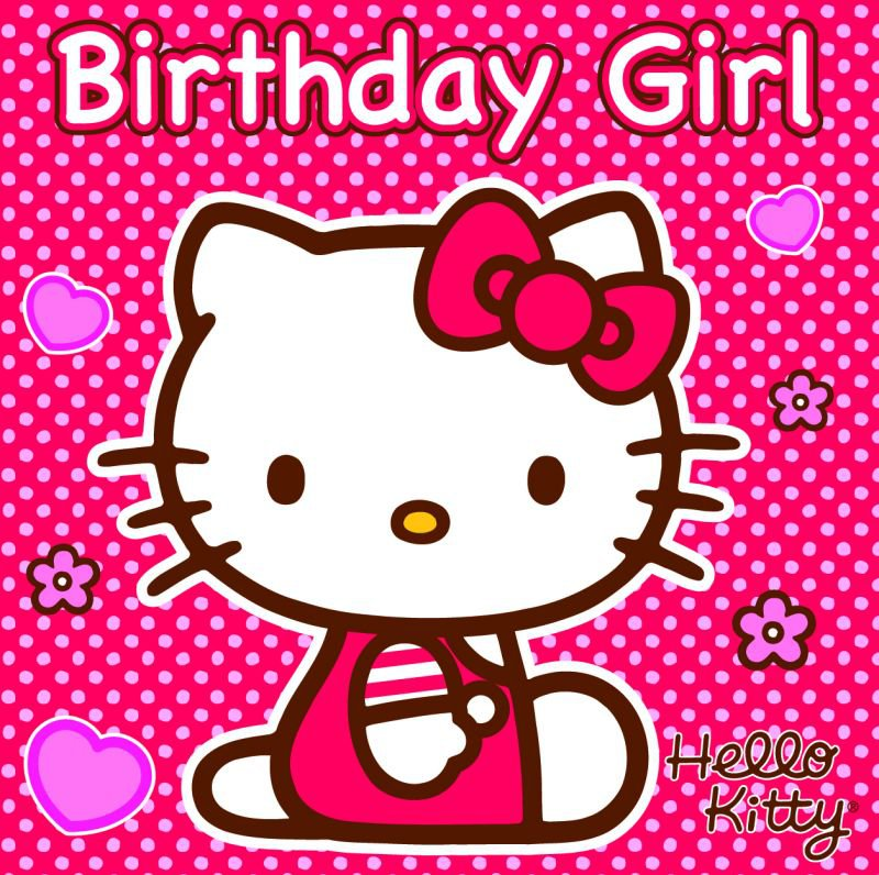 Hello Kitty Birthday Graphics