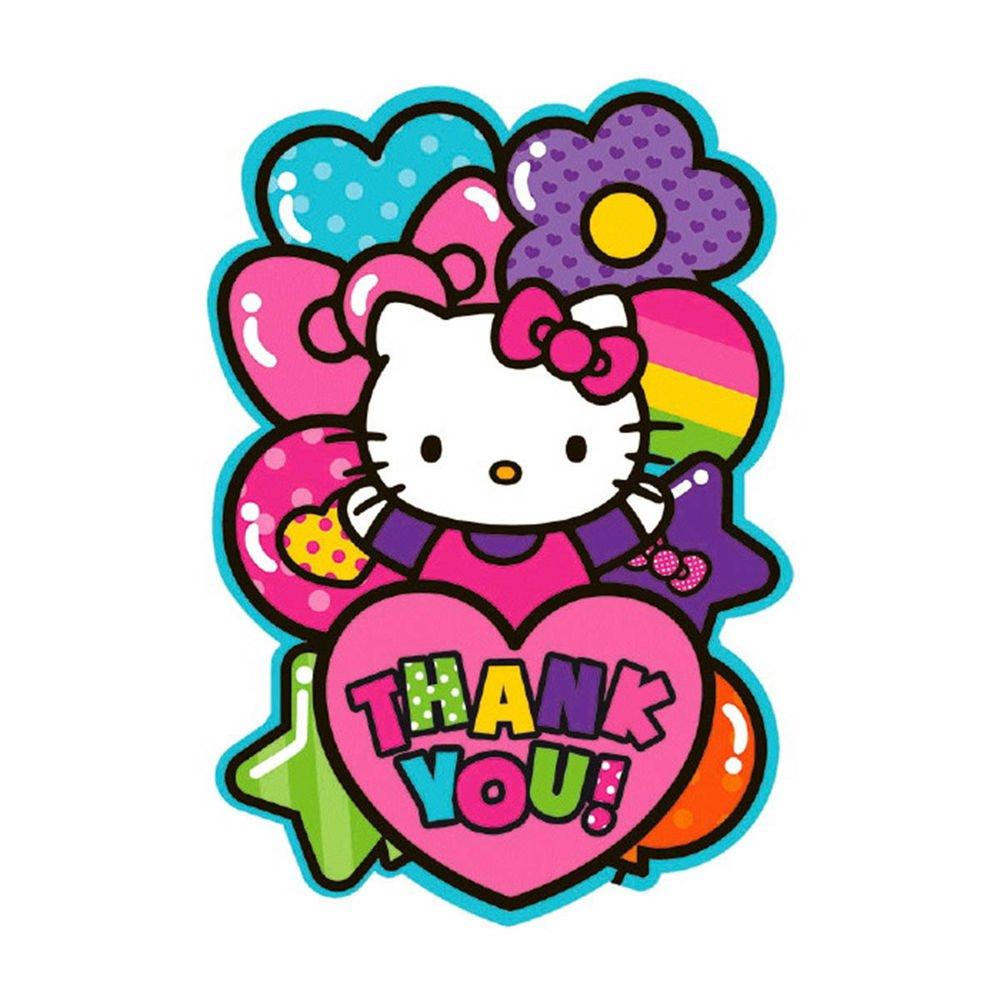 Hello Kitty Rainbow Birthday Card