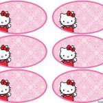 Hello Kitty Water Bottle Labels Template