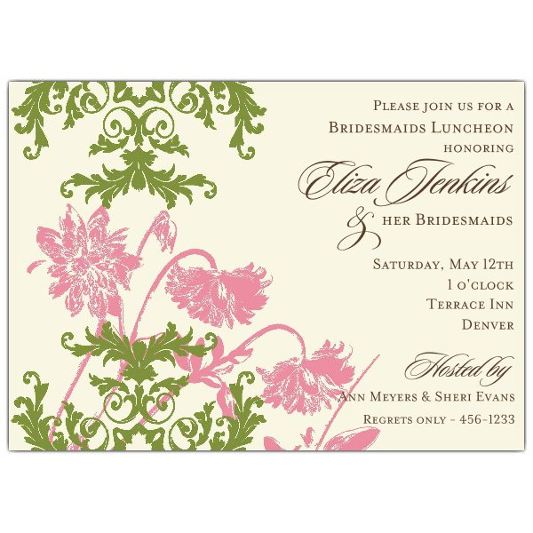Holiday Luncheon Invitations Printable