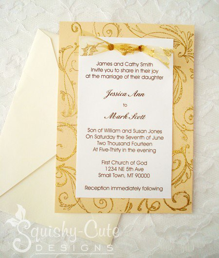 Homemade Wedding Invitations Ideas