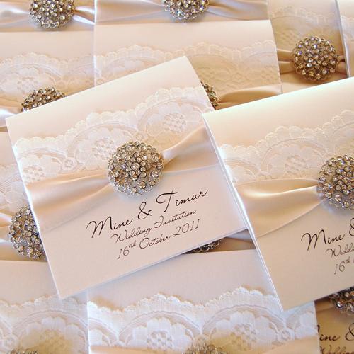 Homemade Wedding Invitations Pinterest