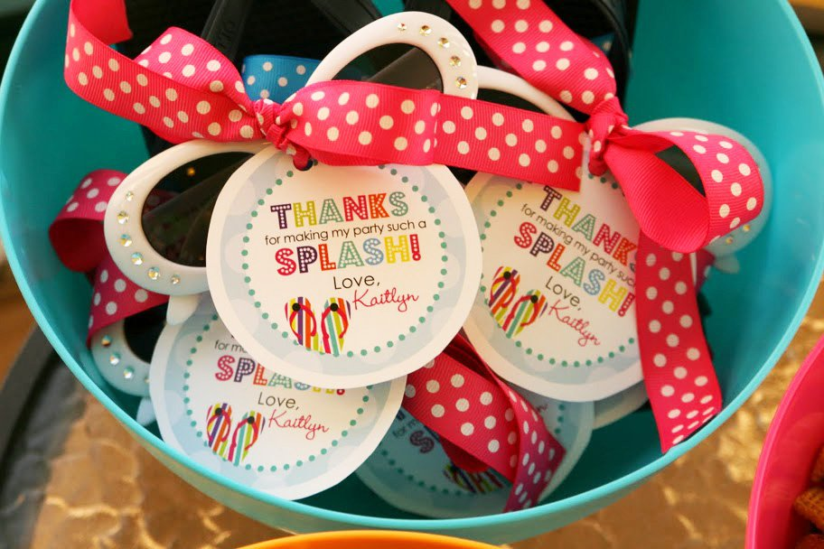 Indoor Pool Party Invitations